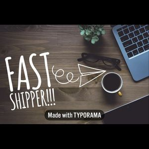 Fast shipping 💙